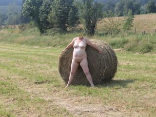 A lonely haystack 5 of 9