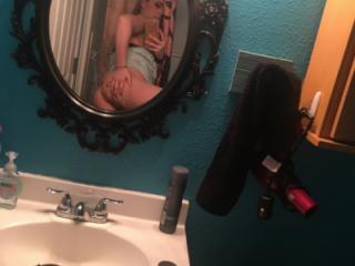 Girl teasing