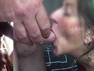 Just a quick cum in mouth video