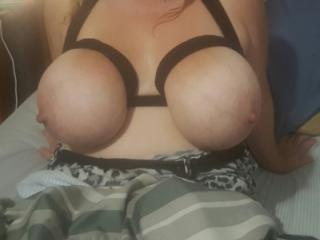 Big boobs lube and nipple suckers 1 of 13