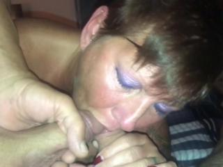 Wife sucking cocks