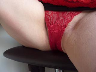 A little red tease.