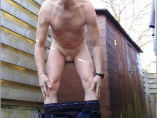 naked public outdoor exhibitionist