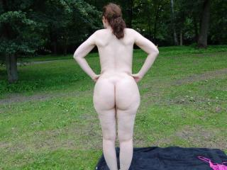Nude in public park 20 of 20