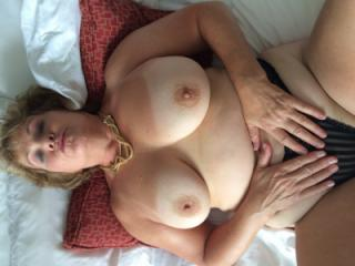 Hot Wife Big Natural Tits and Ass In Hotel