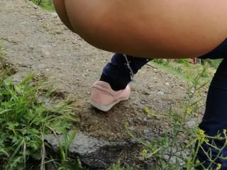 Outdoor pee