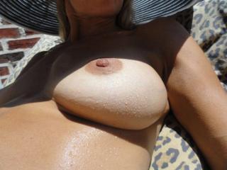 Jade...tanning in the backyard 14 of 20
