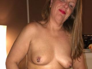 My pierced nipples, do you like?