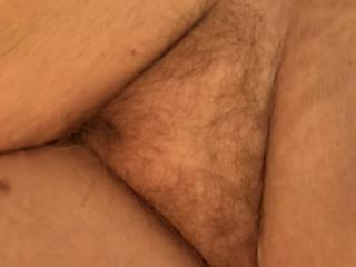 Wife stretched out nude