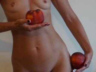 Woman and Peach 6 of 7