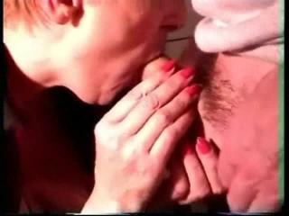 Mature sucking  deep