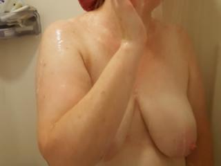 Red showercap