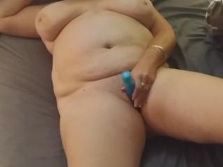 BBW Wife Masturbating
