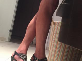 High heels suggest sex