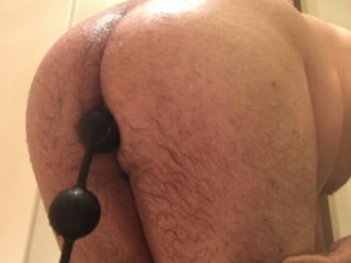 Having fun on my ass