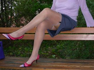 Stockings, legs and heels 1