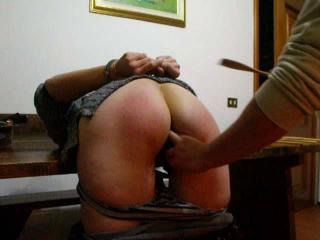 handcuffed and spanked
