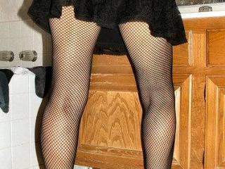 Laydie in Fishnets