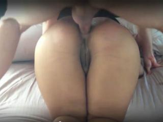 Fucking wifes ass