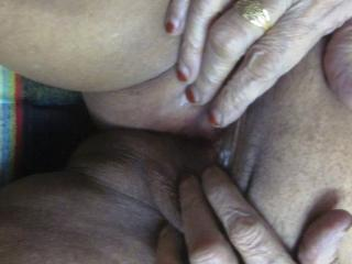 My pussy open and close