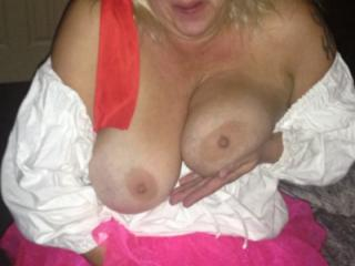 Hot Blonde Milf Pirate Whench
