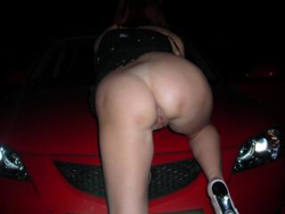 Night, forest and car 4 of 8