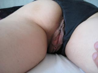 Simply horny in bed 7 of 10