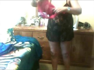 wearing sundress getting naked