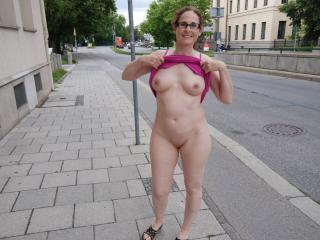 Nude in public park 6 of 20
