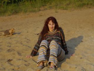 On the Sand (ShopAkira pants)