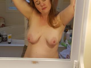 Topless at the Vanity 2