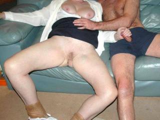 Pantyhose sex play