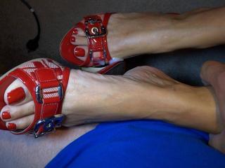 I simply take her horny feet
