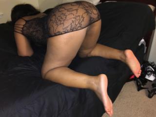 Slut Wife in a Lace Dress