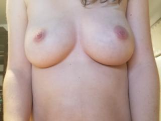 Lover her tits