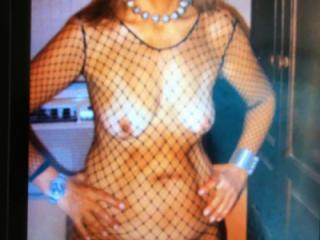 She likes lingerie
