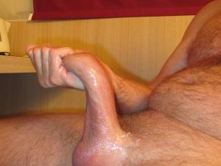 Repost - German 20cm cock is getting ready - sorry original post was missing pics