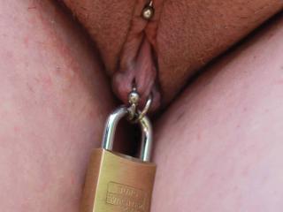 Locked  by my Master