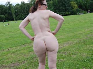 Nude in public park 9 of 20