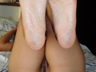 The Feet of my girlfriend for my pleasure