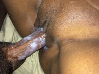 Pussy Juice and Semen