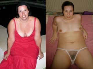 my slut holly dressed / undressed 10 of 20