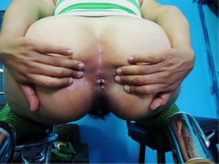 Mexican depraved shows her Anus 38