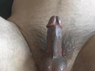 Came twice edging with a nice big dildo