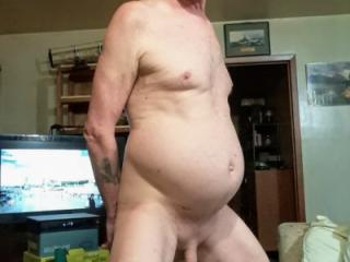 Mature man naked
