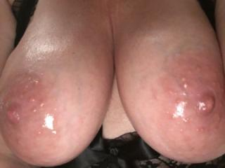 My beautiful wife's tits