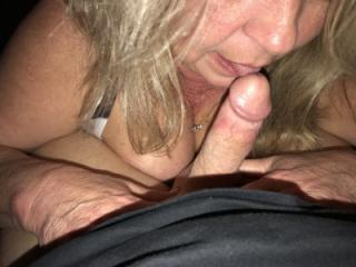 titties handjob and blowjob 7 of 12