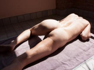 It Boy Naked Sunbathing