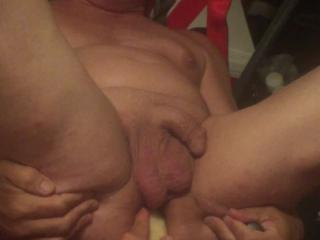 SexyGuy550 - Dildo on a Swing