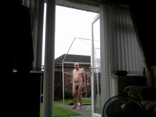 My hubby nude for both men & ladies to look at.